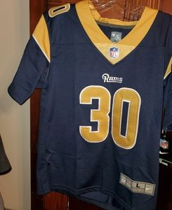 NWT Youth large Rams Todd Gurley Jersey